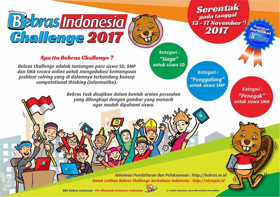 Bebras Indonesia Challenge 2017 Lone Coder S Blog